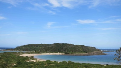 Broulee Island Nature Reserve, Broulee, New South Wales, Australia