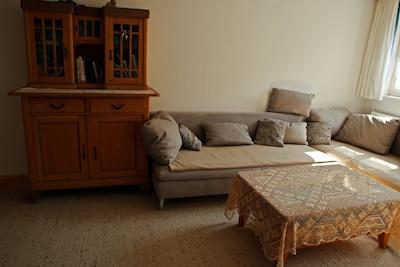 Schlafsofa im Wohnbereich
