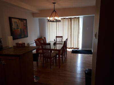 Large apartment in Montreal