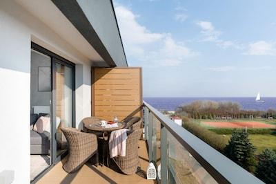 Apartment Gardenia Seaside 7E/45 in Dziwnów, balcony