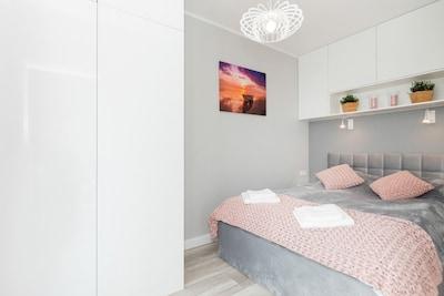Apartment Gardenia Seaside 7E/45 in Dziwnów, bedroom