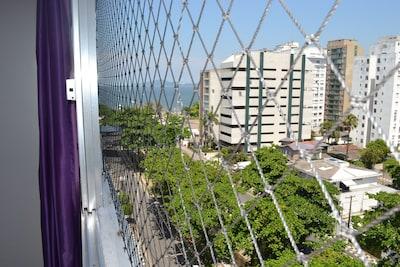Santos - Ponta da Praia - Vista pro Mar