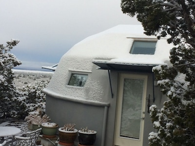 Winter at the domes