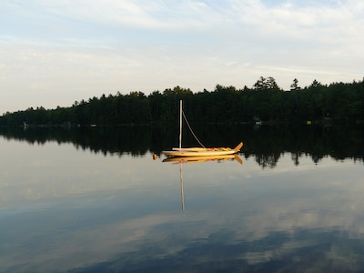 Pitcher Pond, Lincolnville, Maine, United States of America