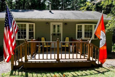 Clear Creek Cottage front porch