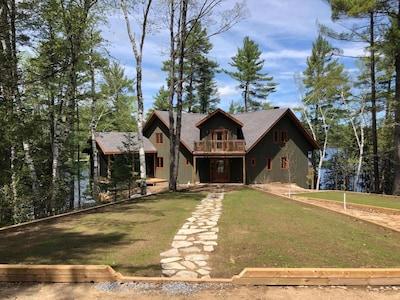 Luxury 6 bedroom house on McGregor Lake