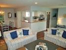 Living Room and Kitchen flow together
