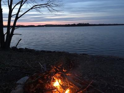 First bonfire of the season!