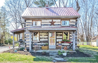 Vintage cabin in the ❤️ of Middletown , MD.  Pet friendly and prime location.
