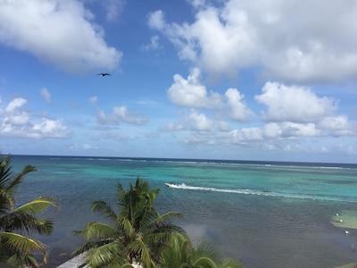 Oceanfront Sky deck view