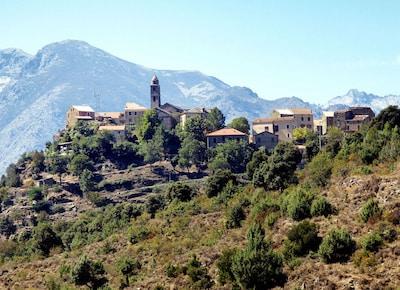 Santa-Lucia-di-Mercurio, Haute-Corse, Frankreich