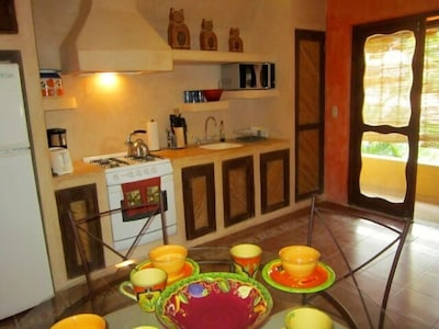 Kitchen and Entry to Balcony