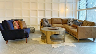 Plenty of stylish space in which to kick back and relax
