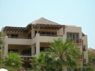 View of our villa on the top floor