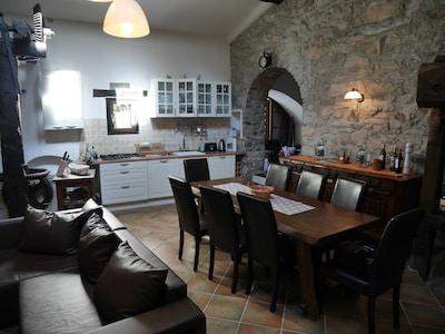Esstisch, Küchenbereich