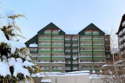 Station de sports d'hiver Peyragudes, France