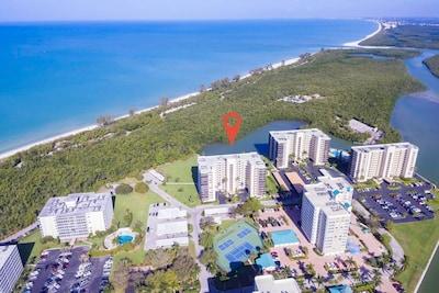 Aerial View of Vanderbilt Surf Colony