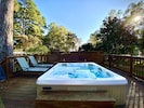 This six-person hot tub is sure to provide great relaxation!