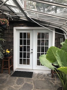 Entrance from the Greenhouse