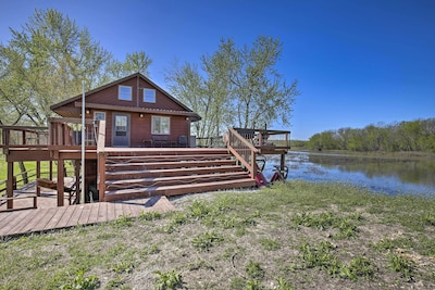 This vacation rental cabin is ready to host your next hunting trip!
