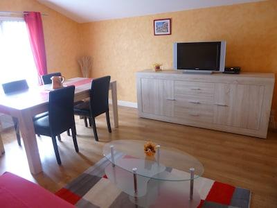 Appt dans maison au coeur du pays basque : vue superbe
