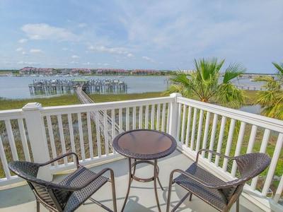 Top master bedroom deck