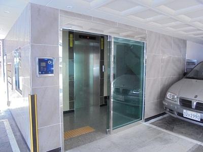 security door & elevator