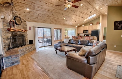 Beautiful great room with lots of natural light!