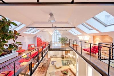 Loft Design Unique de Luxe - 300m2 - Résidence Privée - Louvre, Paris (Evénements)