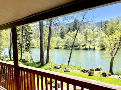 Beautiful River View from your deck