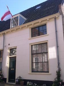 The facade of the Johan home.