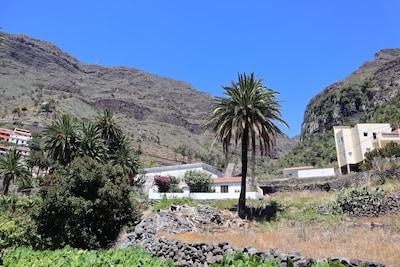 Casa de vacaciones (antiguo molino) en Valle Gran Rey, La Gomera