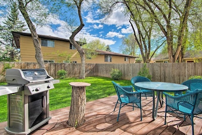 This charming house features a fenced backyard ideal for entertaining friends!