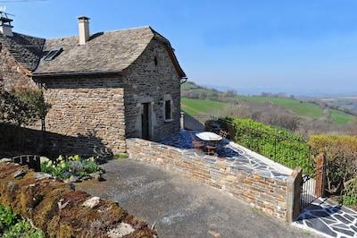 Castelnau-de-Mandailles, Aveyron, France