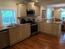 New kitchen to make cooking more enjoyable
