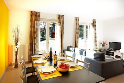 """Open plan living here at tremezzo """"Residence apartment 1"""""""