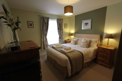Hotel quality bed linen and towels
