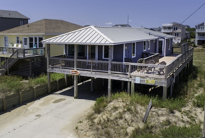 Plenty of deck space for sun or shade! All with ocean views!