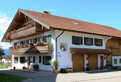 Bahnhof Oberammergau, Oberammergau, Bayern, Deutschland