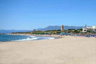 Playa de Artola-Cabopino, Marbella, Andalusia, Spain