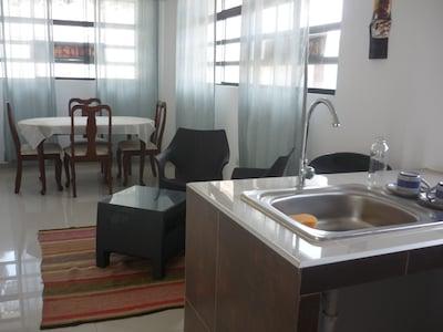 OneChako 101 - Apartamento De Estreno - Interior Sala Comedor