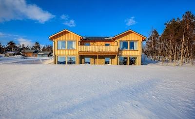 Muscox Centre, Tannas, Jamtland County, Sweden
