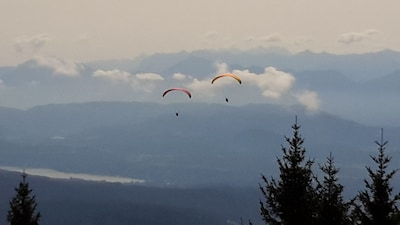 Skigebiet Gerlitzen, Kärnten, Österreich