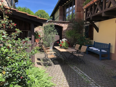 Maison du Sel, Wissembourg, Bas-Rhin, France