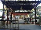 Our 20'x70' pergola w chandelier and party lights