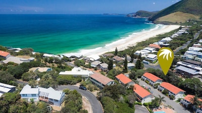 Poste d'observation de Cape Hawke, Forster, Nouvelle-Galles-du-Sud, Australie