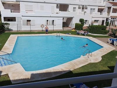 Lujoso apartamento de 3 dormitorios en Fuengirola a pocos minutos de la playa.