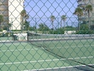 Tennis courts, we have two