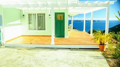 Oca Maloca entrance and deck