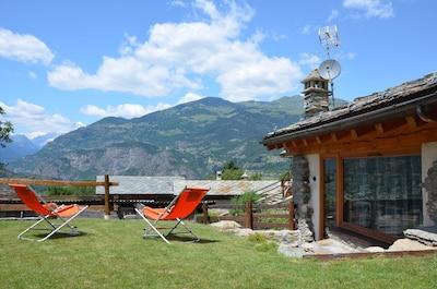 Coveyrand-Vieu, Rhêmes-Saint-Georges, Val d'Aoste, Italie
